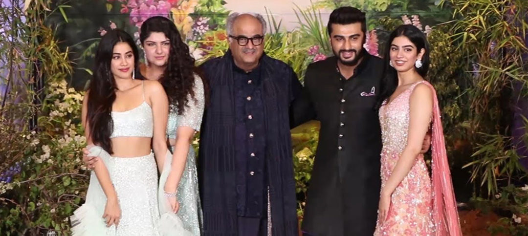 Boney Kapoor and Family in one Frame!