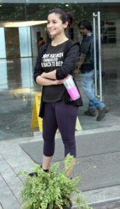 alia bhatt gym look