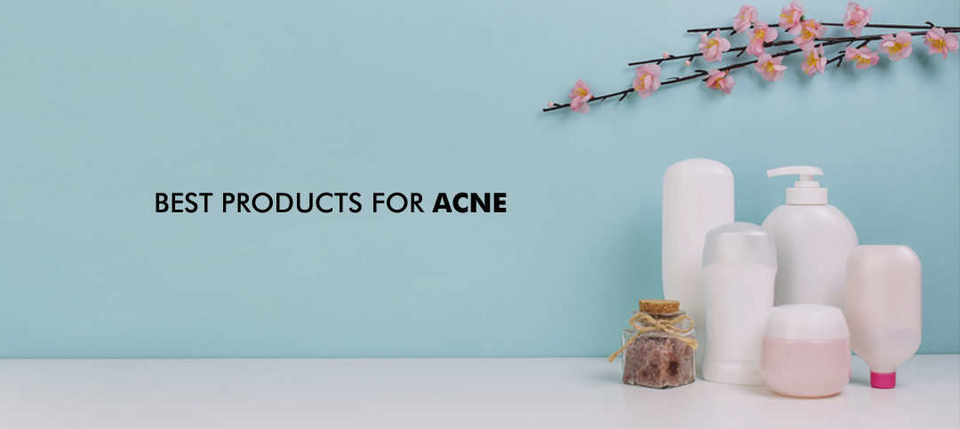 Do you have acne? These are Best products for acne that you must have!