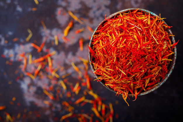 uses of saffron for skin