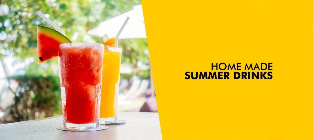 Summer drinks to keep you cool: Homemade and Yummy
