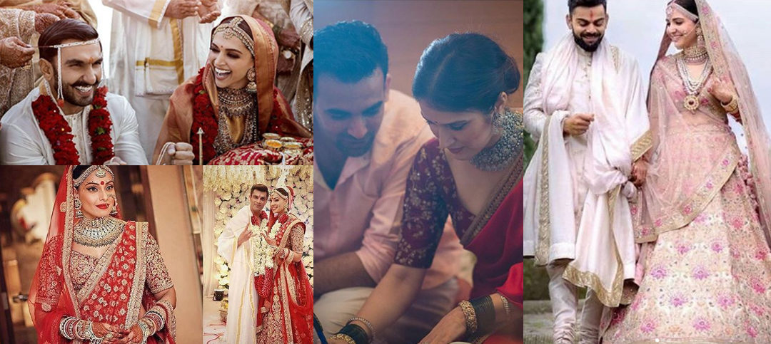 "Celebrities who chose to become ""Sabyasachi Brides"" for their wedding"