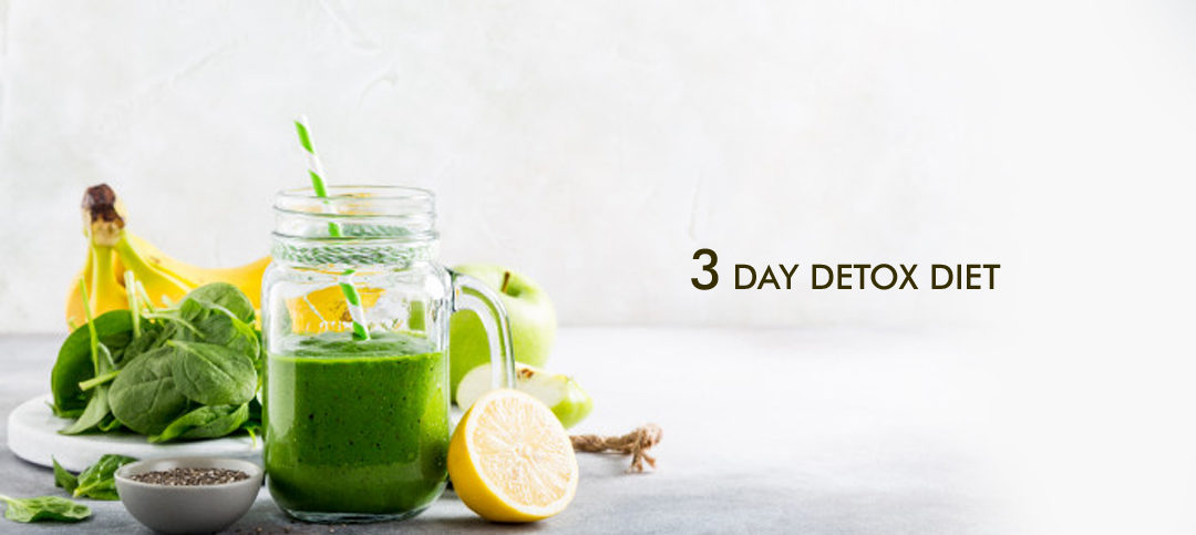 3 Day Detox Diet: For clear skin and weight management