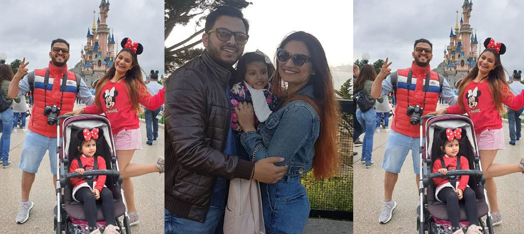 Dimpy Ganguly's daughter Reanna's 3rd Birthday Celebration