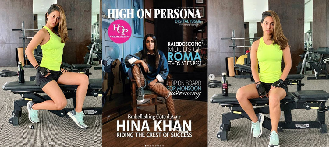 Hina Khan revealed her Skincare, Workout and Diet Secrets