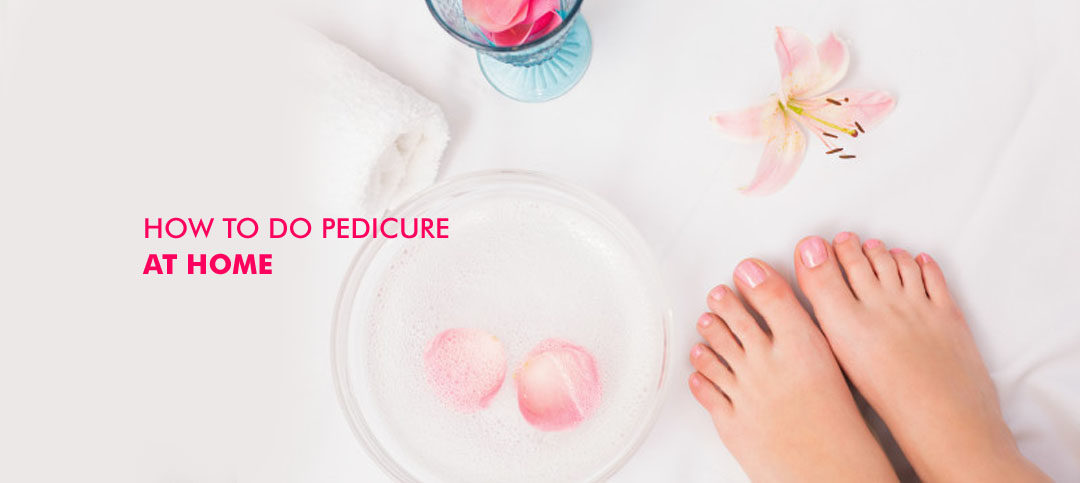 how to make your own pedicure at home