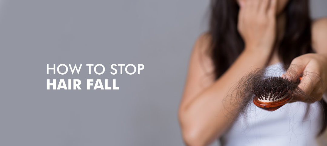 How to Stop Hairfall using Home Remedies