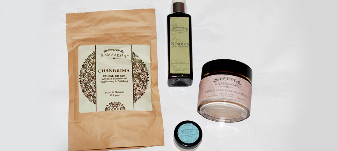 Organic Skincare Products by Kamaakshi Botanicals