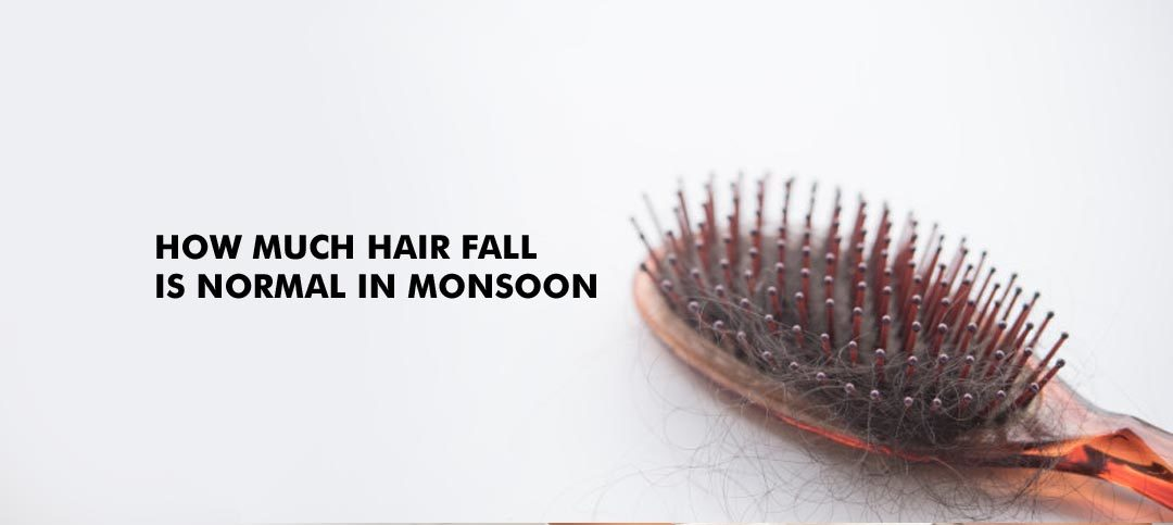 How much hair fall is normal in monsoon: How to deal with it
