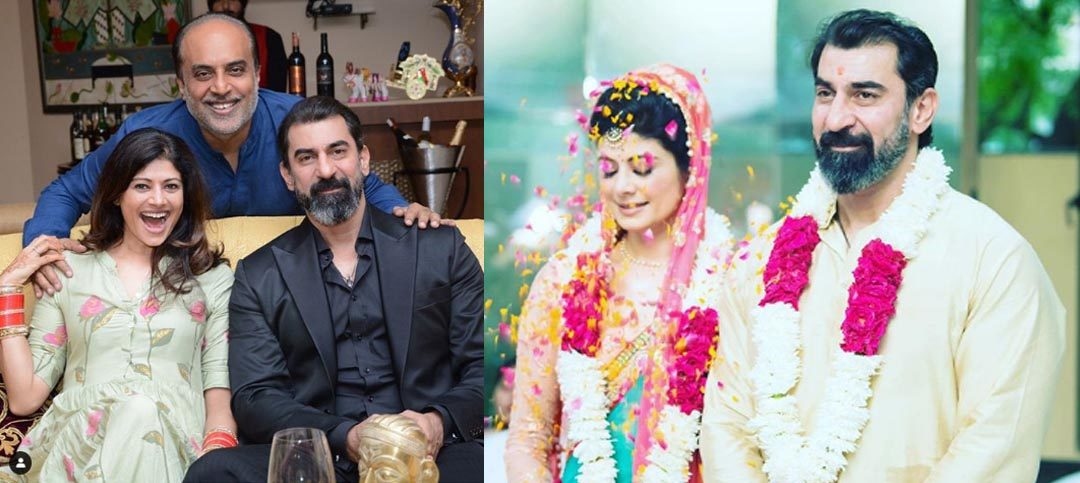 Unseen Pictures of Pooja Batra and Nawab Shah Wedding