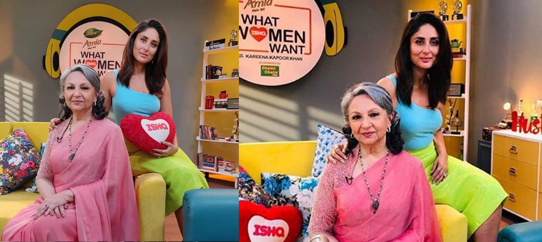 Kareena Kapoor's radio show What Women Want hosted Sharmila Tagore