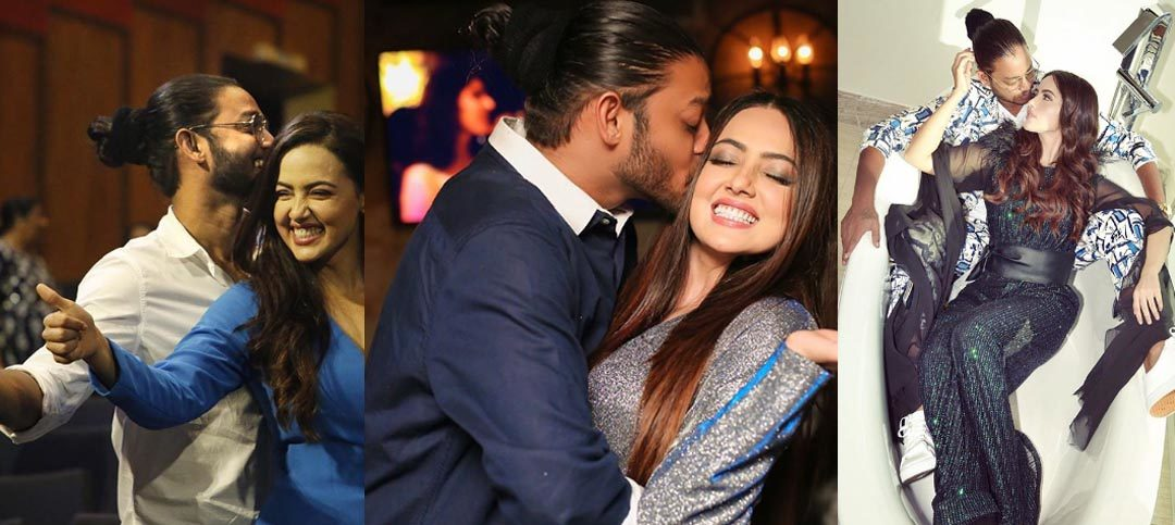Sana Khan and Melvin Louis Breaks up? The actress deletes all their pictures from Instagram