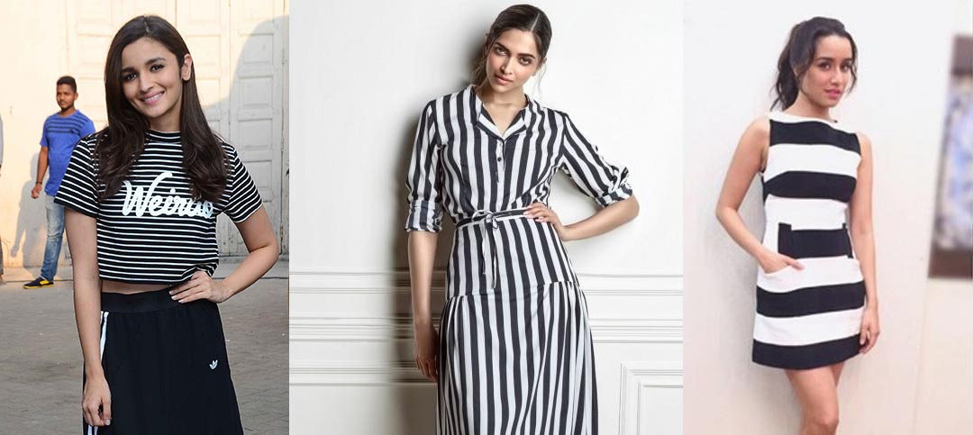 Bollywood fashion trend will see a lot of stripes