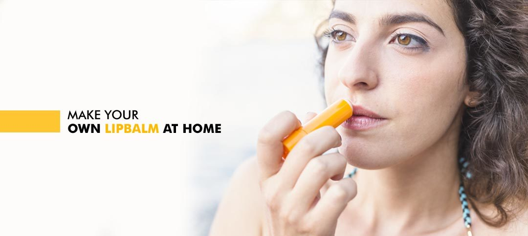 Make your own lip balm at home