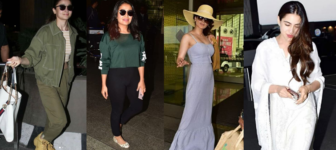 Airport Looks of Indian Celebrities: Who does it the best?