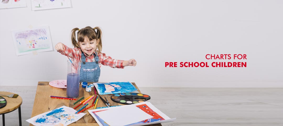 Charts for Preschool Children: Which ones to get and how to use