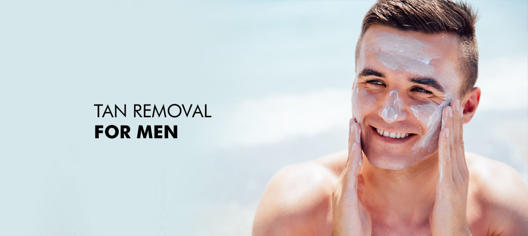 How to Remove Tan from Face for Mens