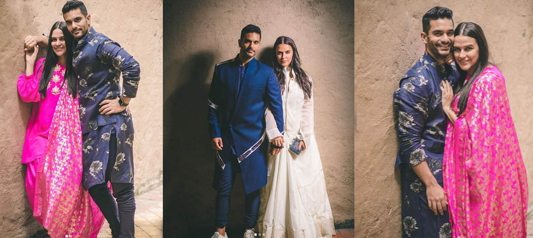 Neha Dhupia forgot her wedding month and Angad Bedi's reaction was hilarious