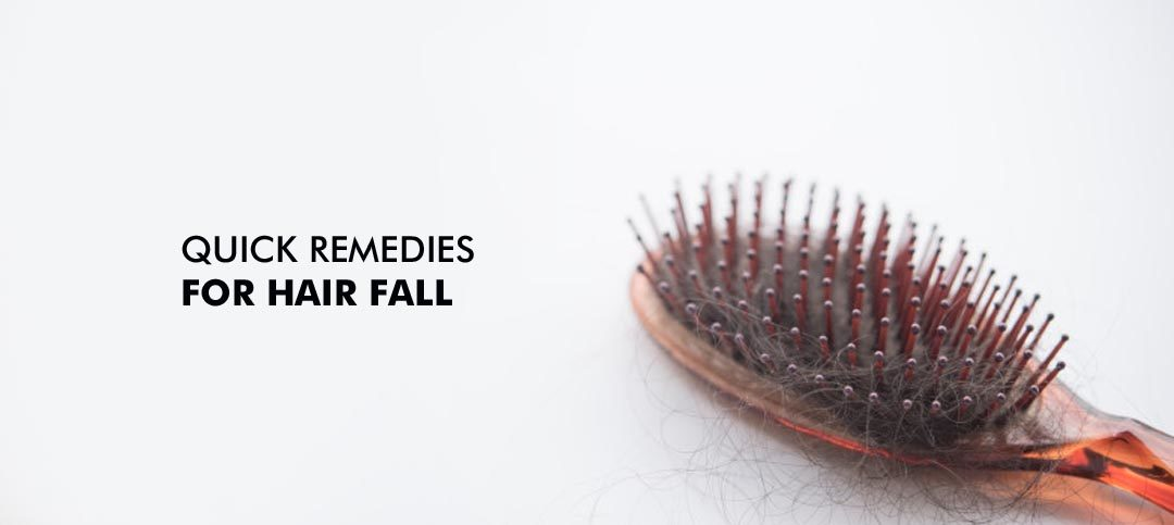 Quick Remedies for Hair Fall: Lifestyle changes and best Products