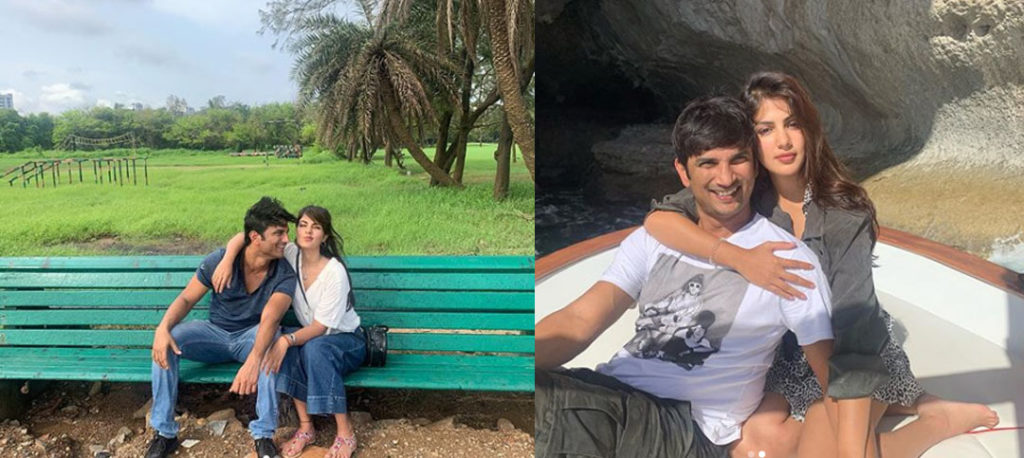Rhea Chakraborty and Sushant Singh Rajput made their relationship official