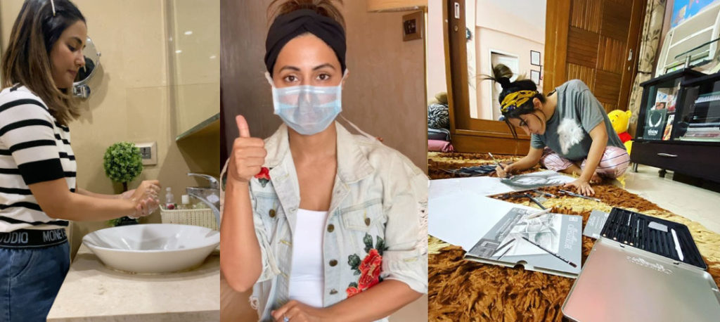 What to do during Lockdown days: Take hints from Hina Khan